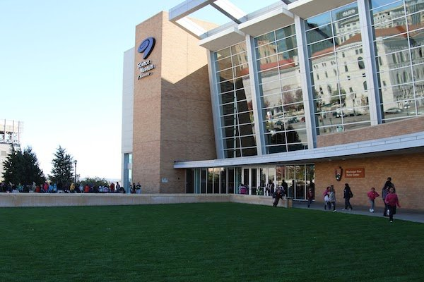The exterior of the Science Museum of Minnesota